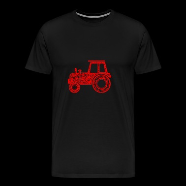 GIFT - TRUCK 1 RED - Men's Premium T-Shirt