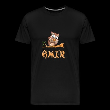 Amir Owl - Men's Premium T-Shirt