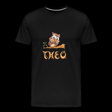 Theo Owl - Men's Premium T-Shirt
