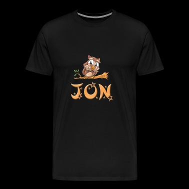 Jon Owl - Men's Premium T-Shirt