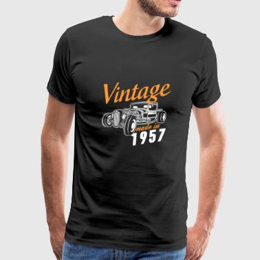 Vintage made in 1957 - Men's Premium T-Shirt