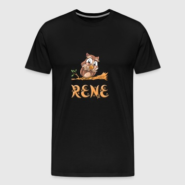 Rene Owl - Men's Premium T-Shirt