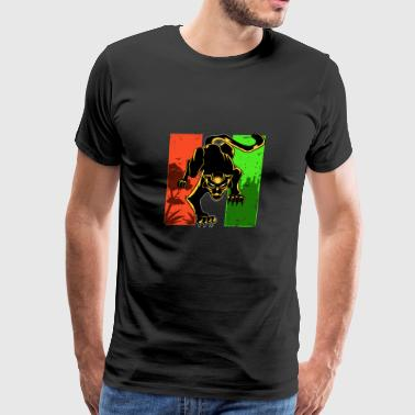 Black Panther King of Africa Wakanda - Men's Premium T-Shirt