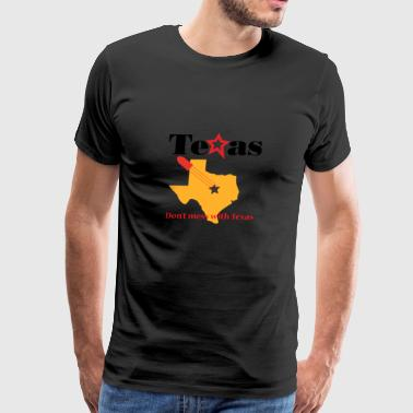 Don't mess with Texas - Bulletproof Design - Men's Premium T-Shirt