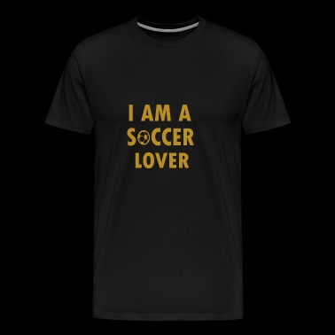 Im a soccer lover - Men's Premium T-Shirt