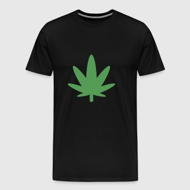420 Cannabis Ganja Weed Marijuana Natural Medicine - Men's Premium T-Shirt
