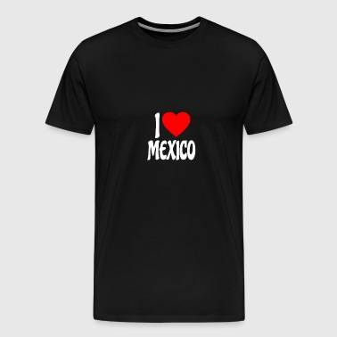 I love Mexico shirt - Men's Premium T-Shirt