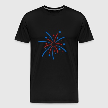 Patriotic July 4th - Men's Premium T-Shirt