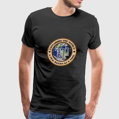 Beer around the world - Men's Premium T-Shirt