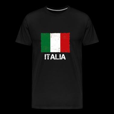 Italy used look vintage gift idea - Men's Premium T-Shirt