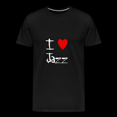Jazz I love - Men's Premium T-Shirt