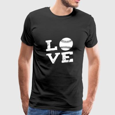 Softball Sports Love Gift - Men's Premium T-Shirt