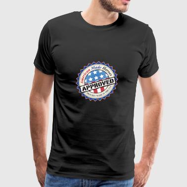 American Made Heroes Approved - Men's Premium T-Shirt