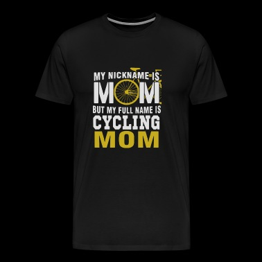 NAME IS CYCLING MOM - Men's Premium T-Shirt