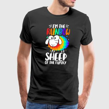 I´m the rainbow sheep of the family - Men's Premium T-Shirt