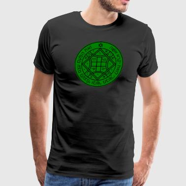 Fourth (4th) Pentacle of Venus - Men's Premium T-Shirt