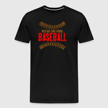 Westside High School Baseball - Men's Premium T-Shirt