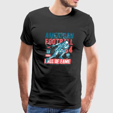 American National Football Hall Of Fame Exclusive - Men's Premium T-Shirt