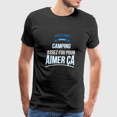 Camping gifted crazy gift man - Men's Premium T-Shirt