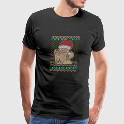 Dogue de Bordeaux Ugly Christmas Sweater present - Men's Premium T-Shirt
