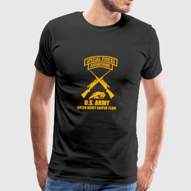 US Army Special Force Sniper - Men's Premium T-Shirt