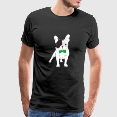 French bulldog St Patrick's Day Gift Frenchie - Men's Premium T-Shirt