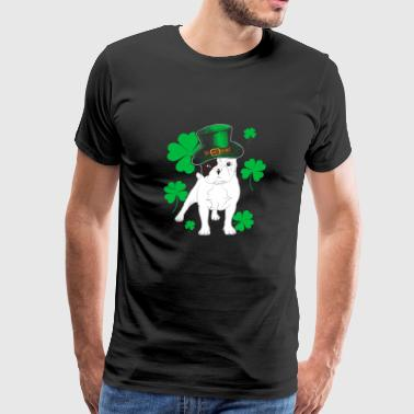 French Bulldog St Patrick's Day Frenchie Gift - Men's Premium T-Shirt