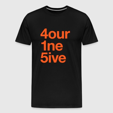 415 Area Code - Men's Premium T-Shirt