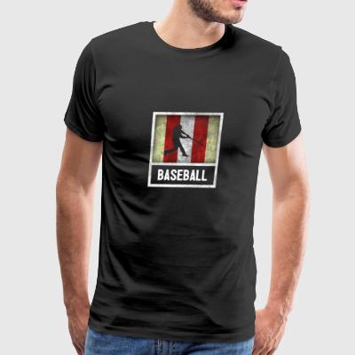Distressed Design for BASEBALL - Men's Premium T-Shirt