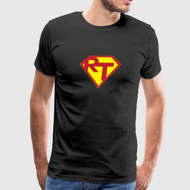 Respiratory Therapist Super Man - Men's Premium T-Shirt