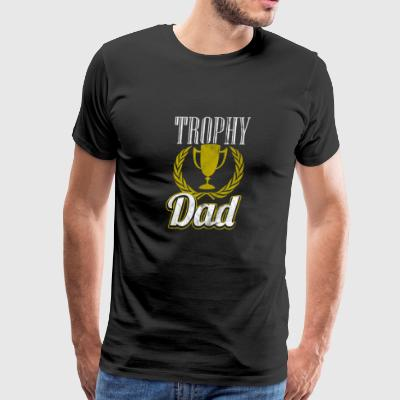 Worlds best Father - Trophy dad - Gift for father - Men's Premium T-Shirt