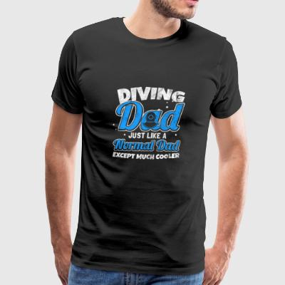Shirt for scuba diving dad as a gift - Men's Premium T-Shirt