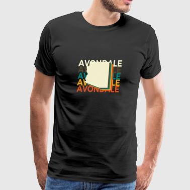 Avondale Arizona Vintage Repeat - Men's Premium T-Shirt