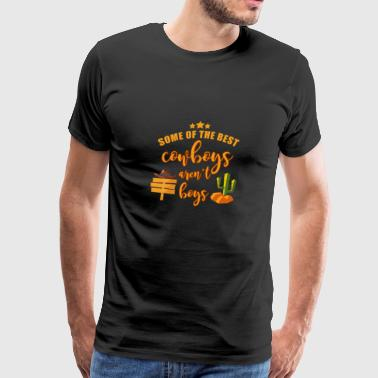 Gift For Daughter From Dad/Mom. Funny Cowgirls T-S - Men's Premium T-Shirt