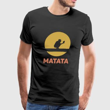 MATATA SOFTBALL - Men's Premium T-Shirt