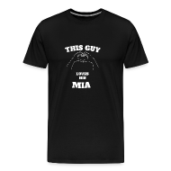 This Guy Loves His Mia Valentine Day Gift   Menu0027s Premium T Shirt