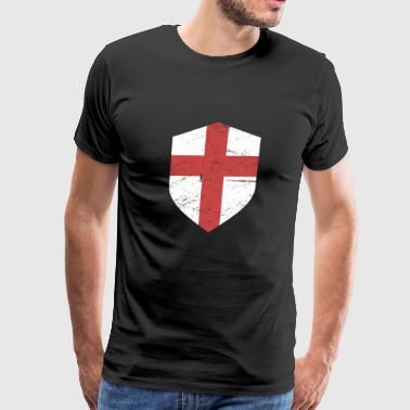 Crusader Shield | Renaissance Festival Design - Men's Premium T-Shirt
