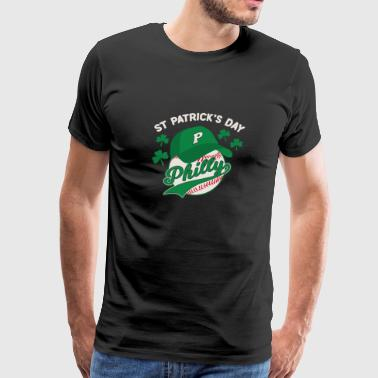 Baseball Philly Philadelphia St Pattys - Men's Premium T-Shirt