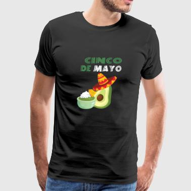 Cinco de Mayonnaise Mexican Pun - Men's Premium T-Shirt