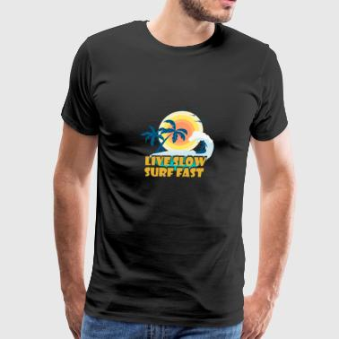 Surfing T-Shirt For Daughter/Son. - Men's Premium T-Shirt