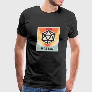 Vintage D20 Roleplaying Game - Men's Premium T-Shirt