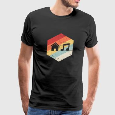 House Music | Retro Vintage Icon - Men's Premium T-Shirt