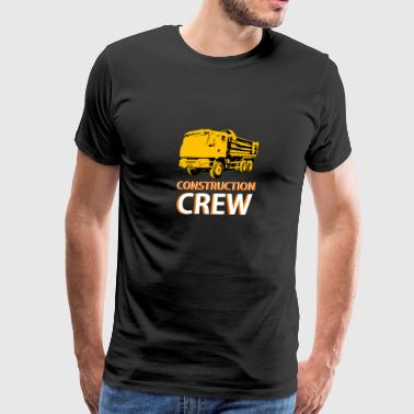 Construction Crew - Men's Premium T-Shirt