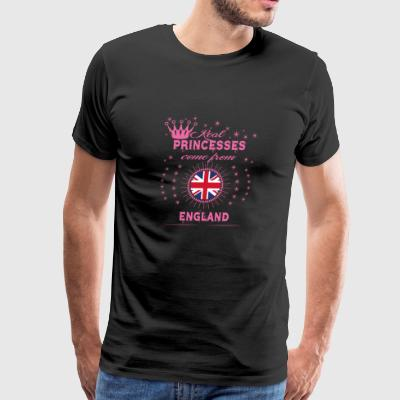 queen real princesses princess from ENGLAND - Men's Premium T-Shirt
