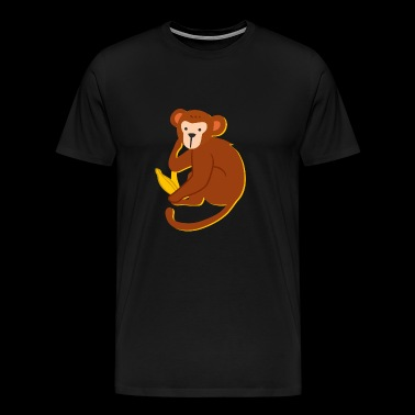 Kids Monkey Design - Men's Premium T-Shirt