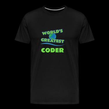 CODER - Men's Premium T-Shirt