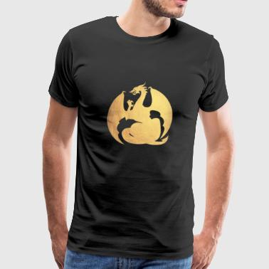 gold dragon - Men's Premium T-Shirt