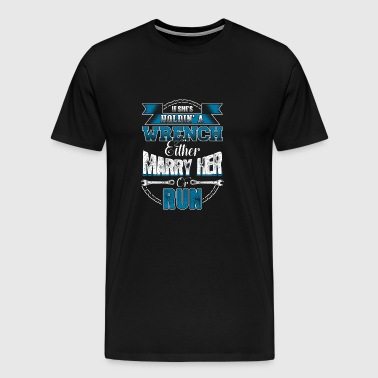 Mechanic Mechanic Mechanic Marriage Gift - Men's Premium T-Shirt