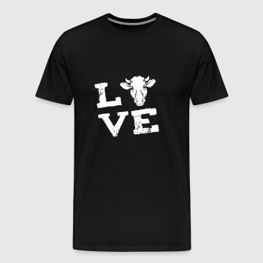 cow Farmer farmer love gift - Men's Premium T-Shirt