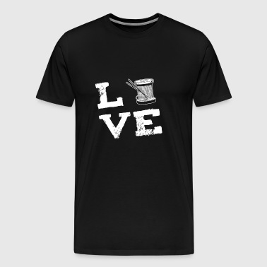 quilting Sewing Quilting Love Sewing Machine Gift - Men's Premium T-Shirt